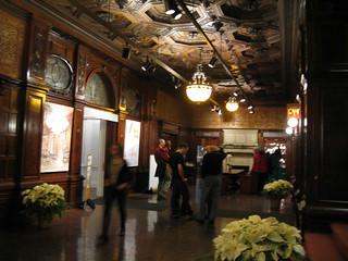 Inside Cooper-Hewitt Museum.