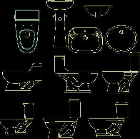 Toilet autocad blocks download arquigrafico net for Autocad bathroom blocks