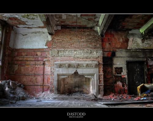 abandoned church fireplace decay indiana gary urbex citymethodist