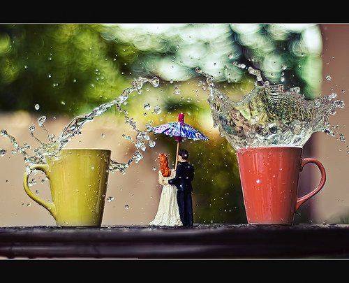 monsoon, wedding, cocktail and bokeh (explored)