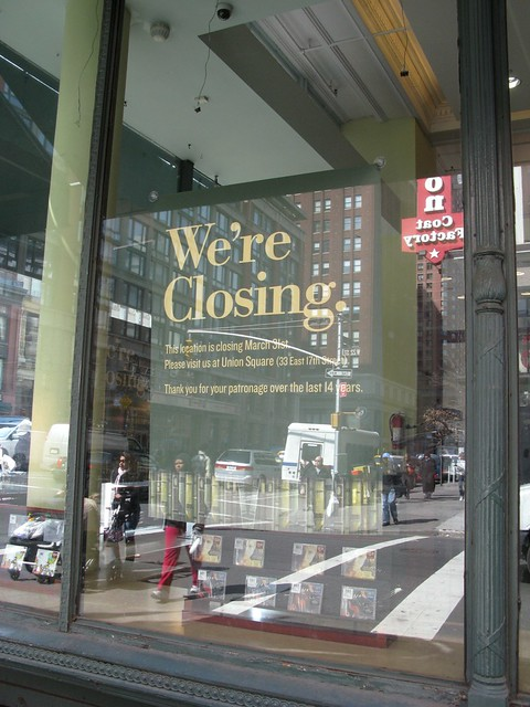 Barnes And Noble Chelsea Closing