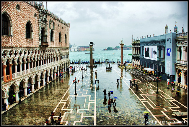 Venecia (Italia). Piazzetta.