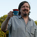 Wiard Synthesizer Co. CEO Grant Richter enjoys a tasty beverage in a Solo Cup by V'ron