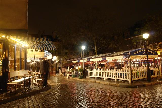 Barrio de los Pintores, junto al Sacre-Coeur de noche ... Sacré Coeur, el balcón más bello de París - 2668526909 53f0355e3b z - Sacré Coeur, el balcón más bello de París