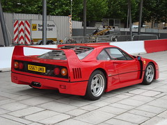 ferrari 348(0.0), ferrari 328(0.0), race car(1.0), automobile(1.0), ferrari 288 gto(1.0), vehicle(1.0), performance car(1.0), ferrari f40(1.0), ferrari 308 gtb/gts(1.0), land vehicle(1.0), luxury vehicle(1.0), supercar(1.0), sports car(1.0),