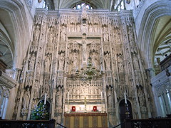 The Great Screen, Winchester Cathedral