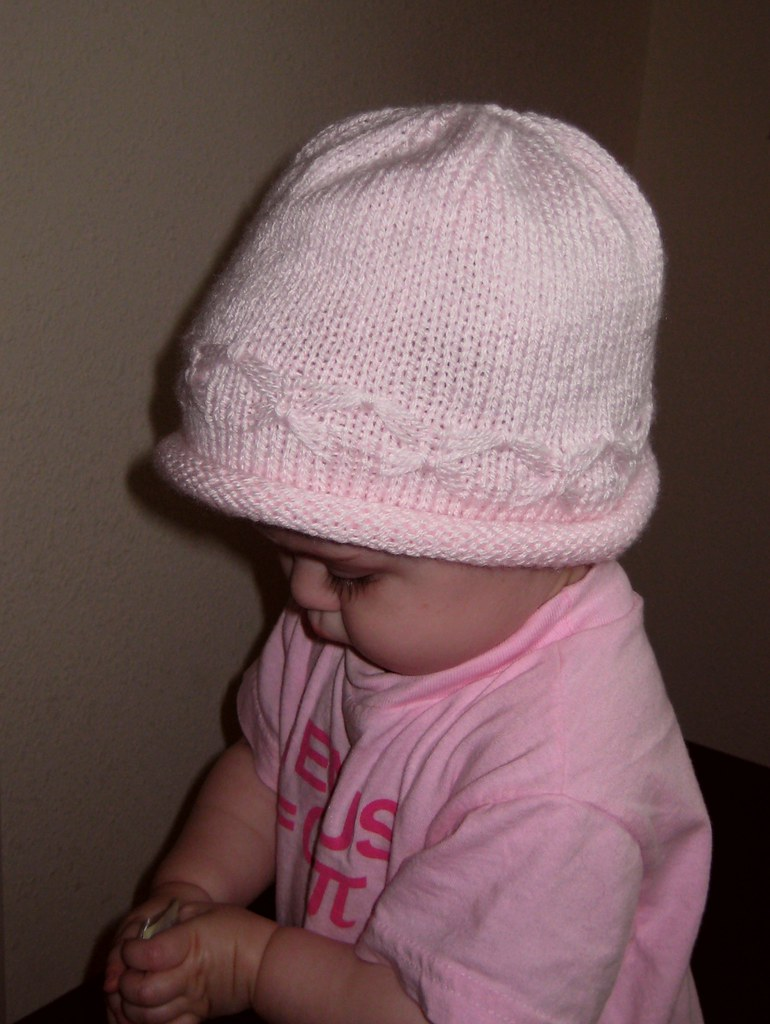 Knitting Caps For Babies : Baby hats knitting patterns free