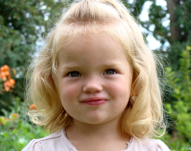 Little Blonde Girl