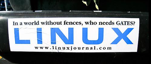 2772060511 a030db955e Funny Linux Bumper Sticker