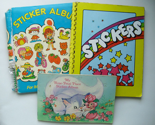 my sticker books!