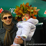 Autumn Leaves and Baby - Vilnius, Lithuania