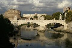 Rome  Ponte Vittorio Emanuele II and Castel Sant'angelo [?]