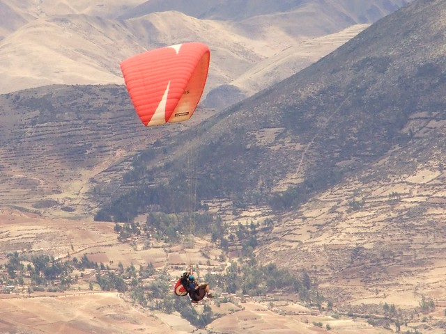 Paragliding in The Sacred Valley