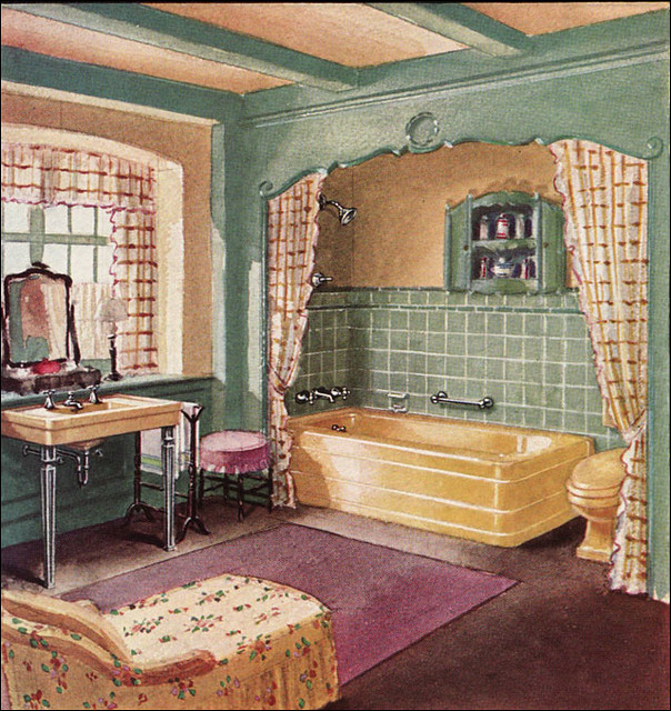 1930 crane bathroom flickr photo sharing for 1930 house interior