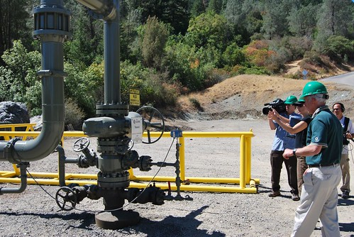 Injection well at The Geysers
