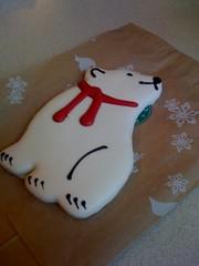 Polar bear cookie!