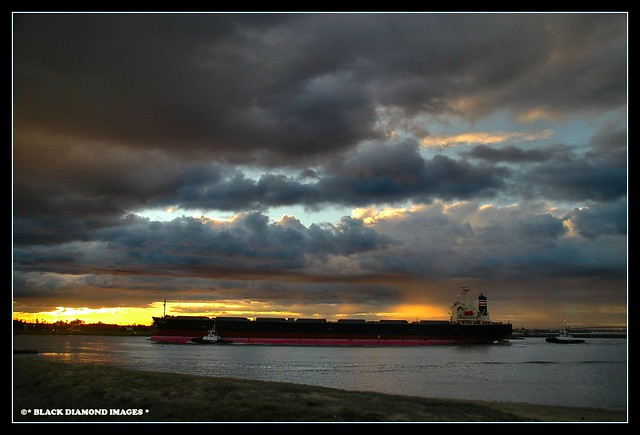 Stockton Sunset - Afternoon Before Pasha Bulker Lockdown