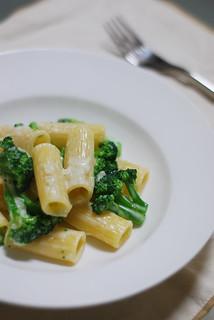 Millerighe alla panna con i broccoli