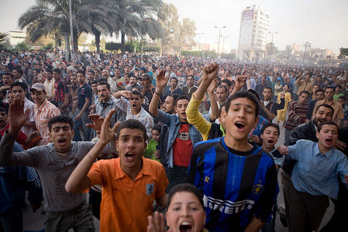 The city of Mahalla erupted in riots in April, 2008. 50,000 took to the streets.