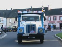Tour de Bretagne 2006, Camion Ancien un Scania