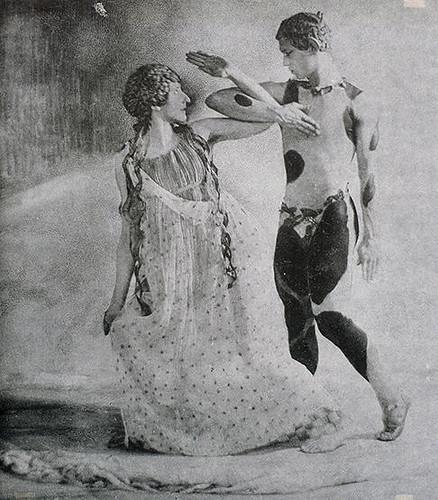 L'après-midi d'un faune - 1912 - Vaslav Nijinski et Bronislava Nijinska