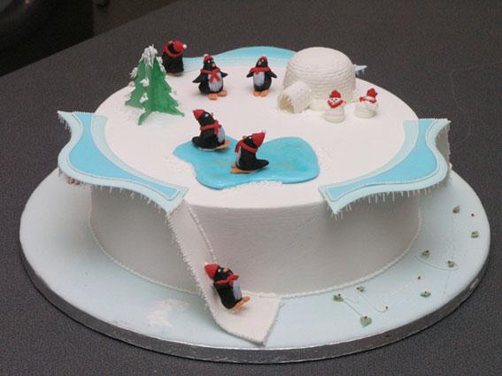 Penguin Christmas Cake Images : Penguin Christmas Cake Flickr - Photo Sharing!