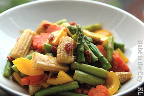 Stir-Fried Kei Chi Mix Vegetables