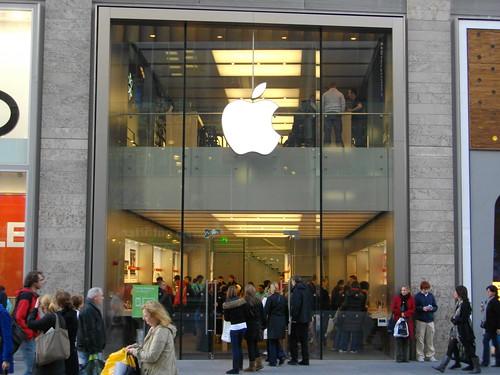 L'Apple Store en Angleterre