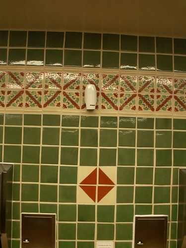 Pecos Bills Restroom - Tile Detail