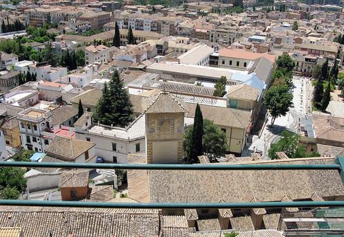 ETSAG en obras eternamente - Antiguo Hospital Militar de Granada