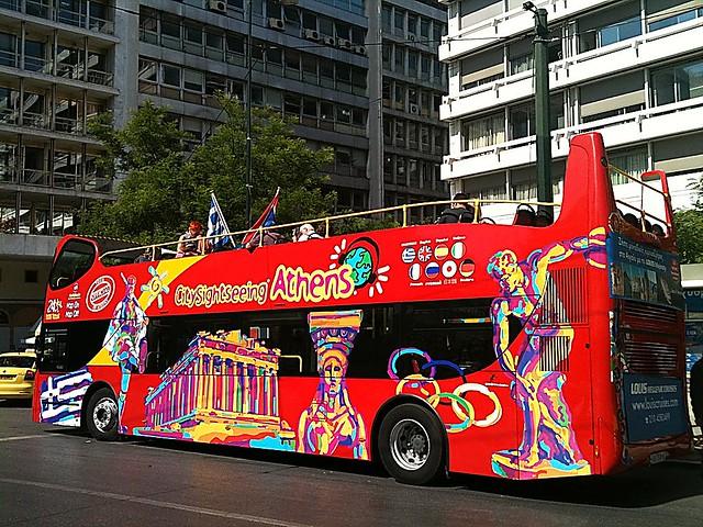 Athens Open Top Bus