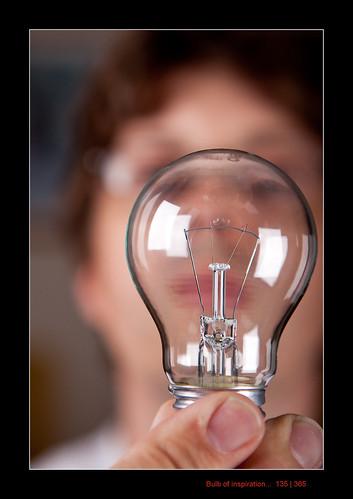I135/365 Bulb of inspiration