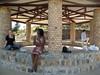 Hut at the Source du Nil