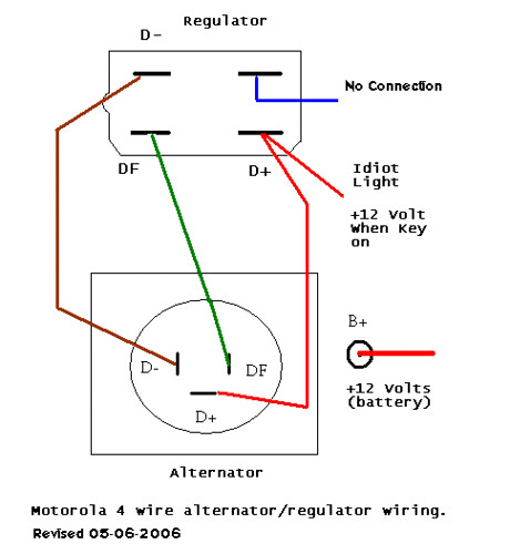 alternator external regulator wiring alternator wiring diagram for bosch regulator jodebal com on alternator external regulator wiring