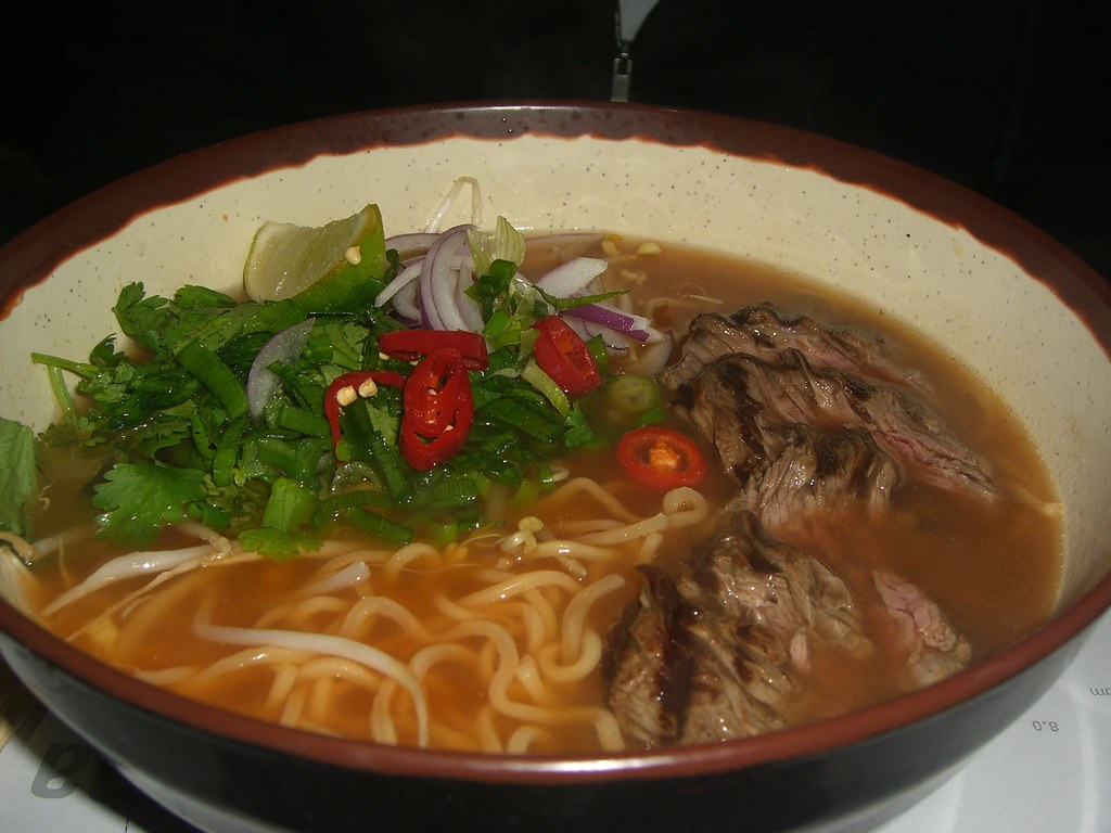 chilli beef ramen wagamama filnders lane flickr photo sharing. Black Bedroom Furniture Sets. Home Design Ideas