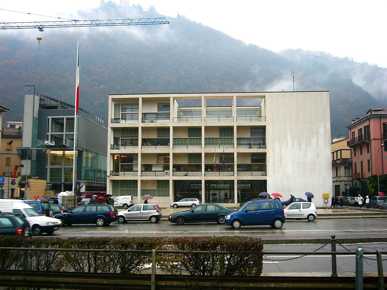 Giuseppe terragni casa del fascio 1932 36 a photo on for Giuseppe terragni casa del fascio