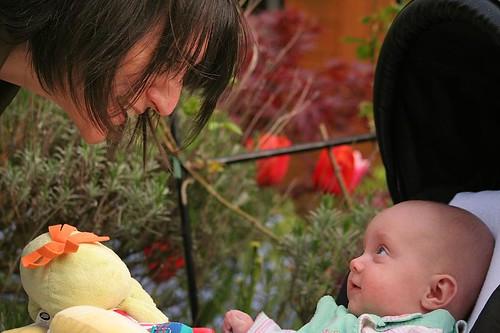 mum & baby in pram