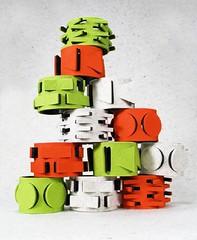 orange, toy block, illustration, toy,