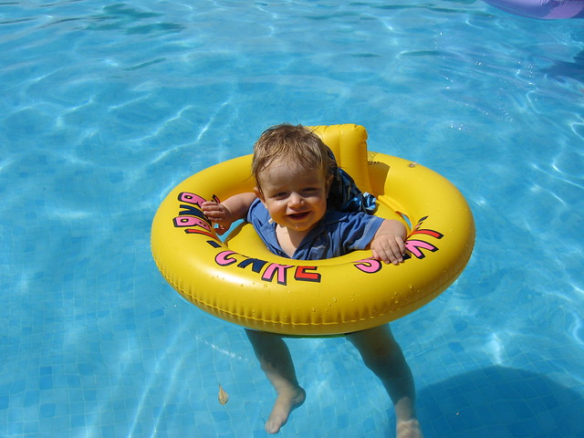 Rubber Swimming Pools : Finlay swimming pool rubber ring fun flickr photo sharing