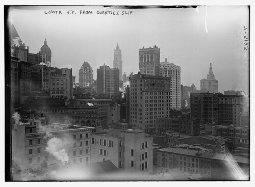 Lower N.Y. from Coenties Slip  (LOC)