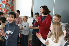 Wanda klassi jõulupidu 2008