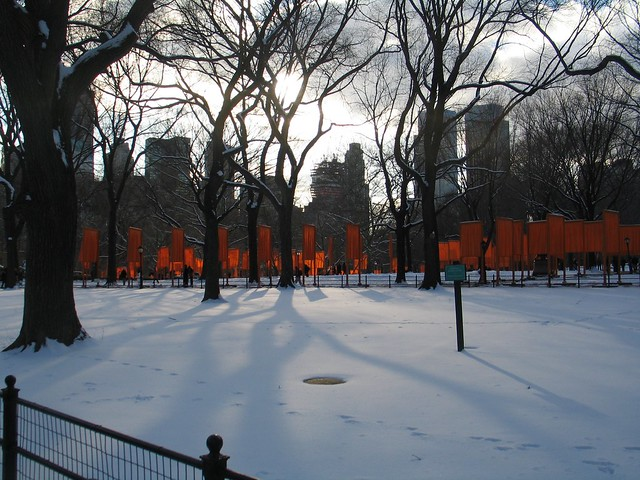 Central Park Gates New York City Christo 2005