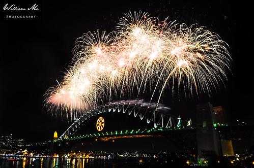 Sydney Harbour 2009 Fireworks
