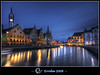 Graslei after sunset, Gent, Belgium :: 25,000 views ! (repost) by Erroba