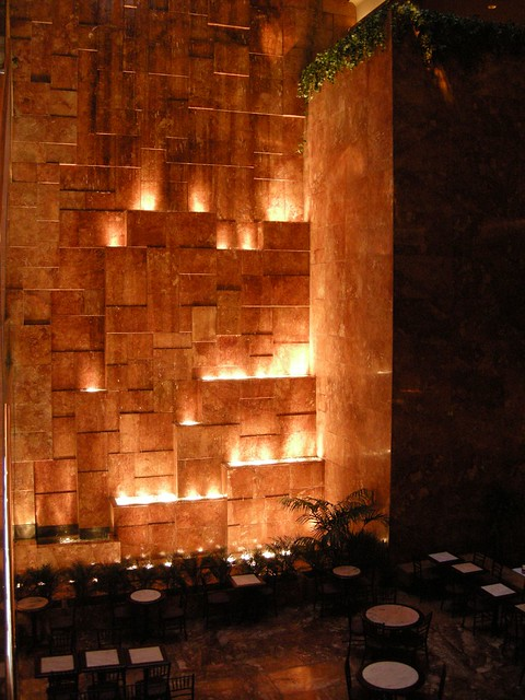 Waterfall Inside Of Trump Tower Flickr Photo Sharing