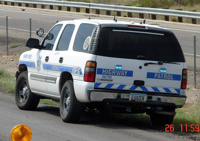 Arizona department of public safety highway patrol for Department highway safety motor vehicles