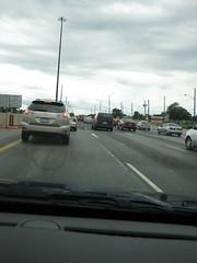 Traffic on the QEW...