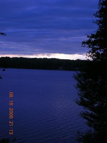 camp sunrise maine ducks august fullmoon logcabin 2008 crosslake