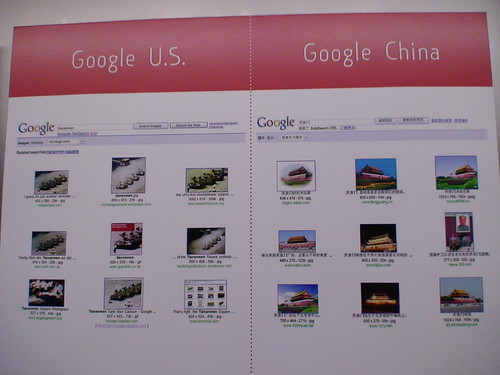 Google U.S. vs. Google China