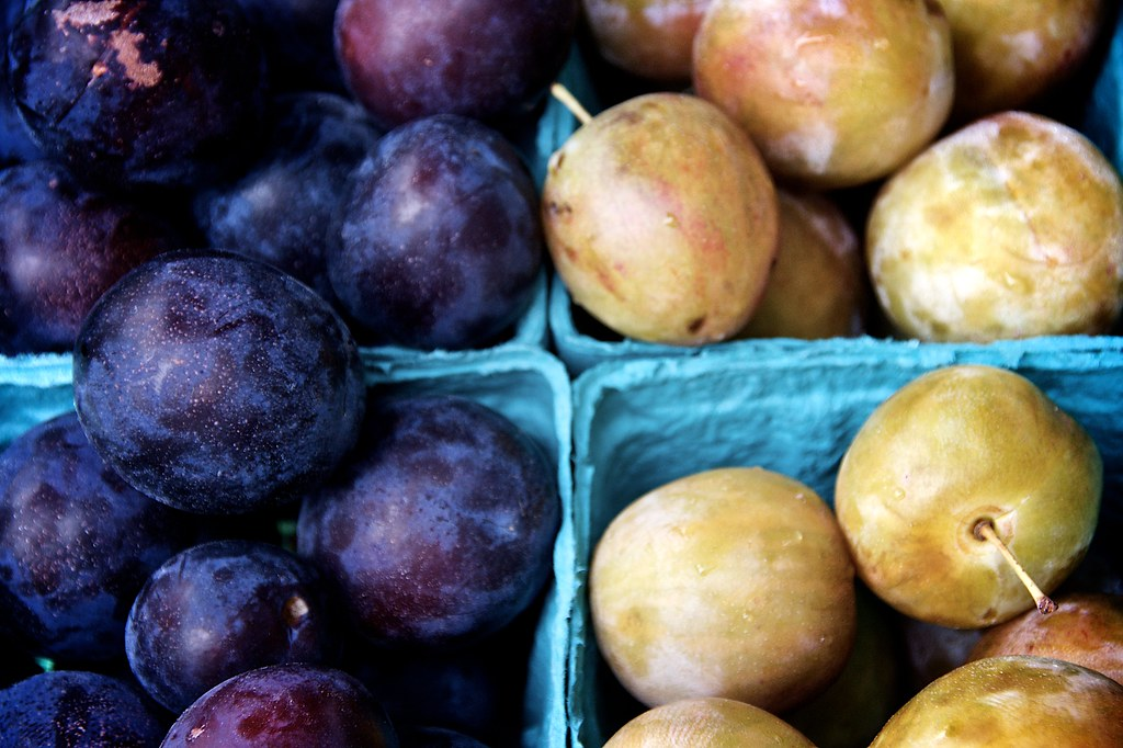 Plums at Ithaca Farmers Market